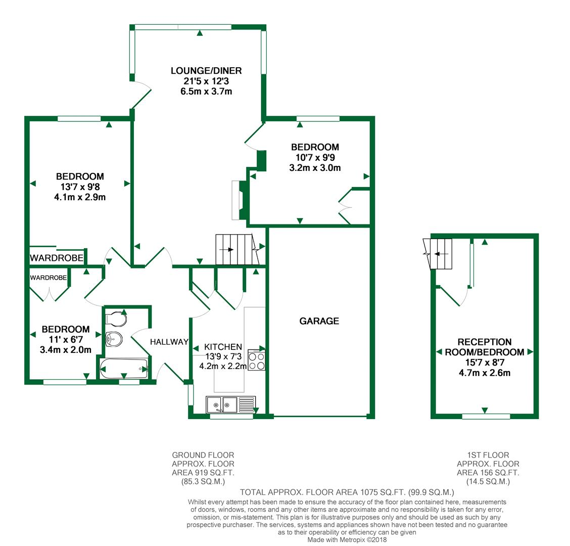 Floorplans For Pine Grove, Twyford, Reading