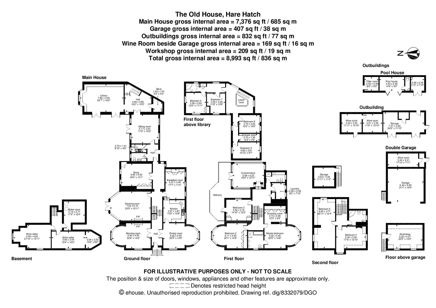Floorplans For Milley Lane, Hare Hatch, Reading