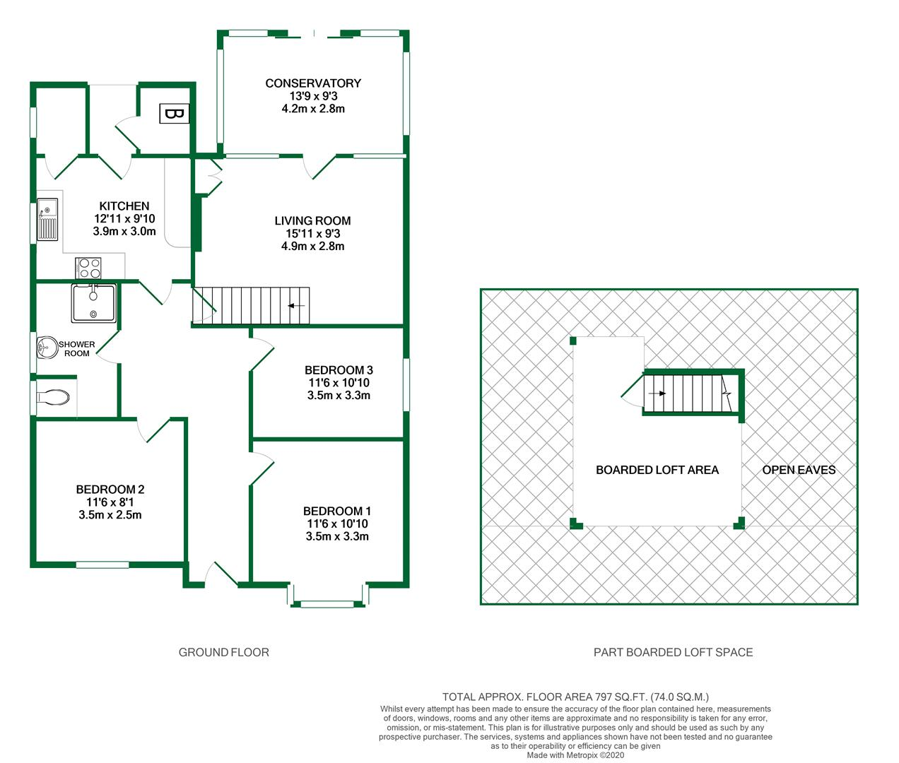Floorplans For Eastview Road, Wargrave, Reading