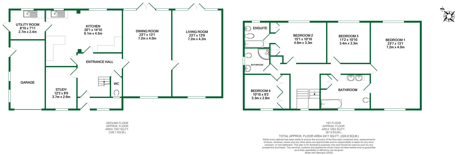 Floorplans For Wargrave Road, Twyford, Reading