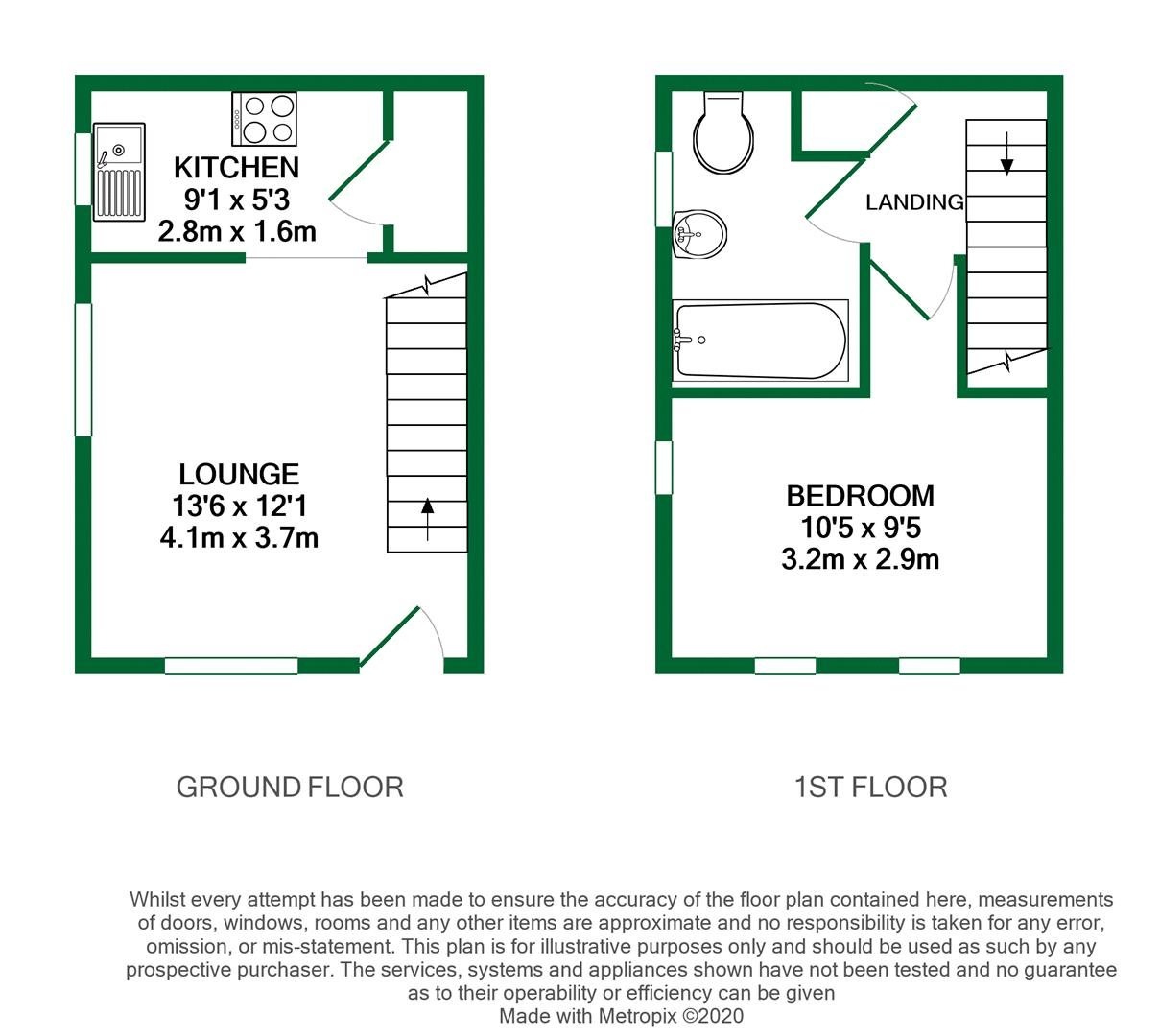 Floorplans For Stephen Close, Twyford, Reading