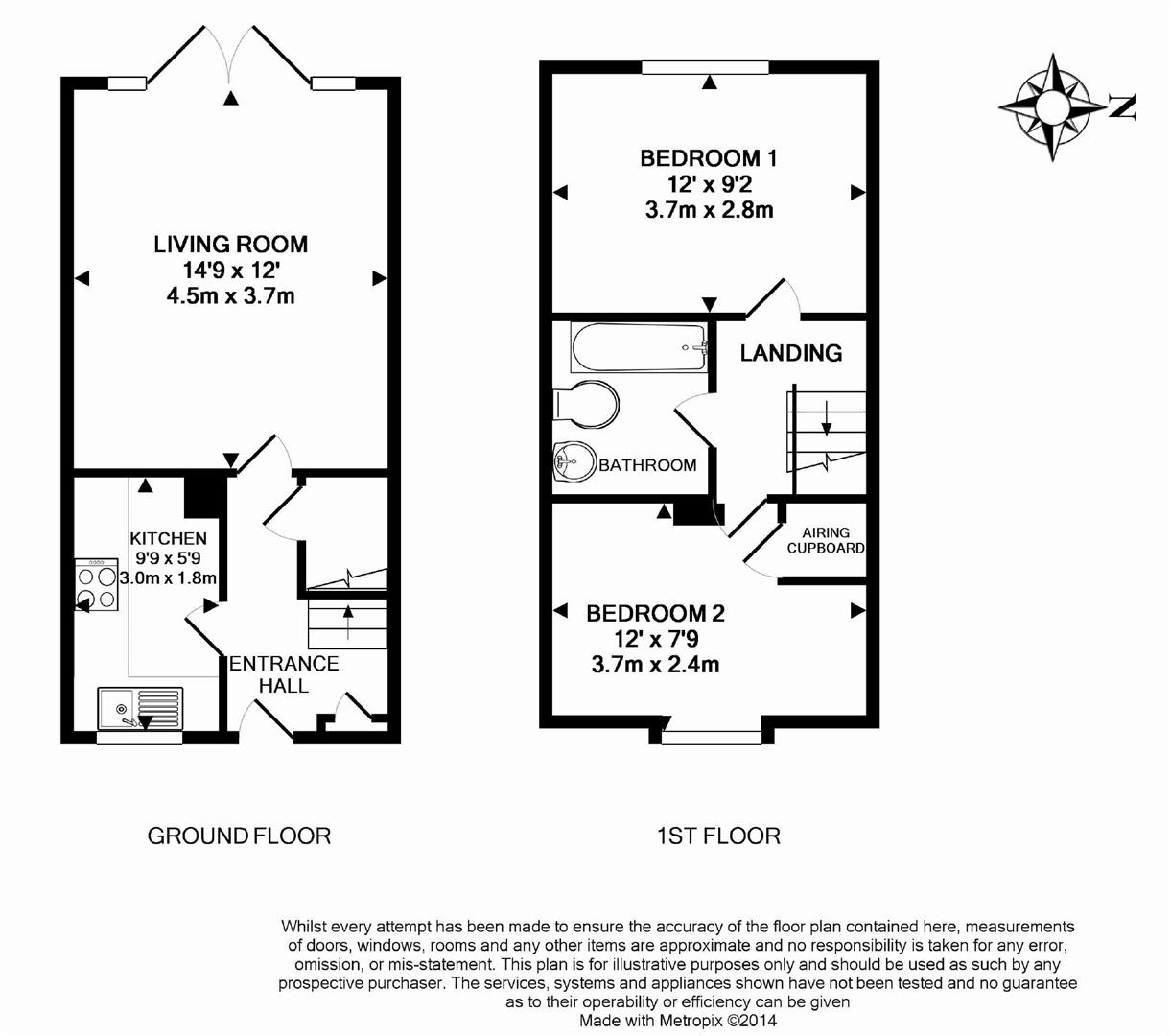 Floorplans For Broad Hinton, Twyford, Reading